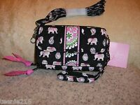 Vera Bradley All In One Crossbody Pink Elephants Sold Out