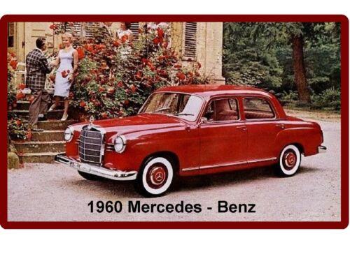 Tool Box  Magnet Benz  Auto Refrigerator 1960 Mercedes