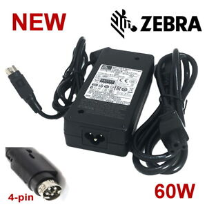 NEW Genuine Zebra UCL172-4 Quad AC Adapter Charger Power Supply 60W OEM W/P.Cord