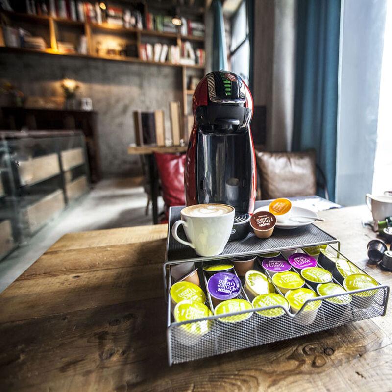 36 Coffee Capsules Storage Drawer Pod Holder Stand Rack