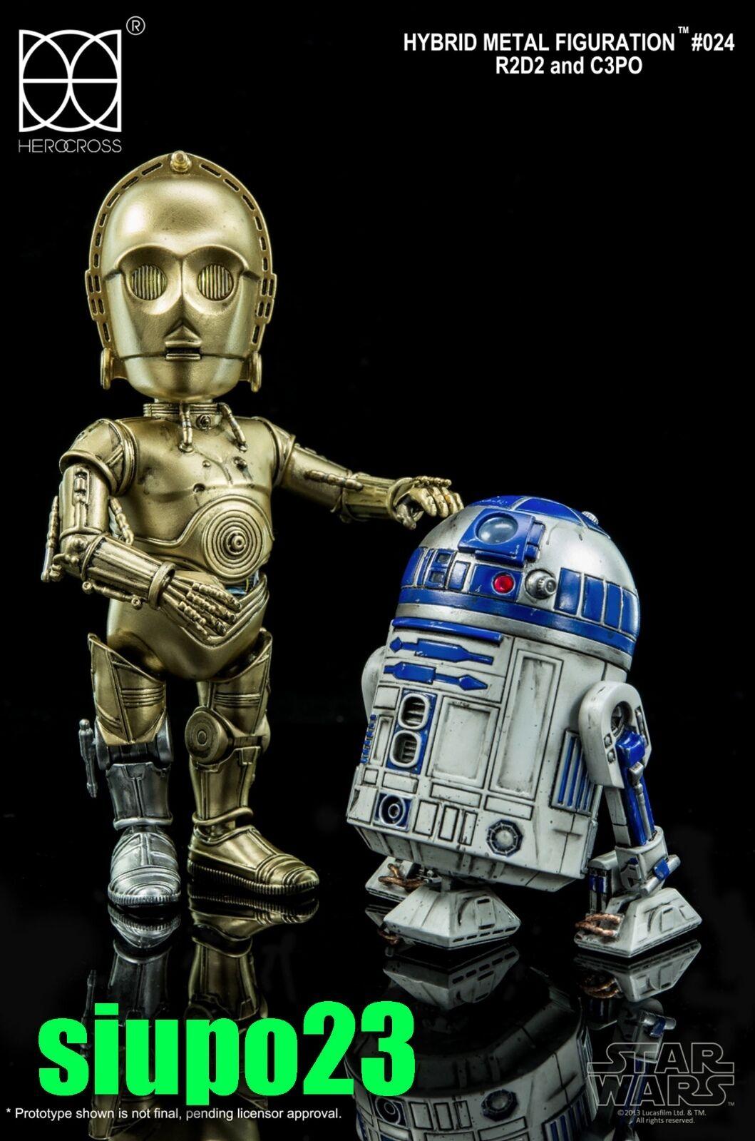 86hero Herocross  HMF Star Wars R2D2 & C3PO Figure