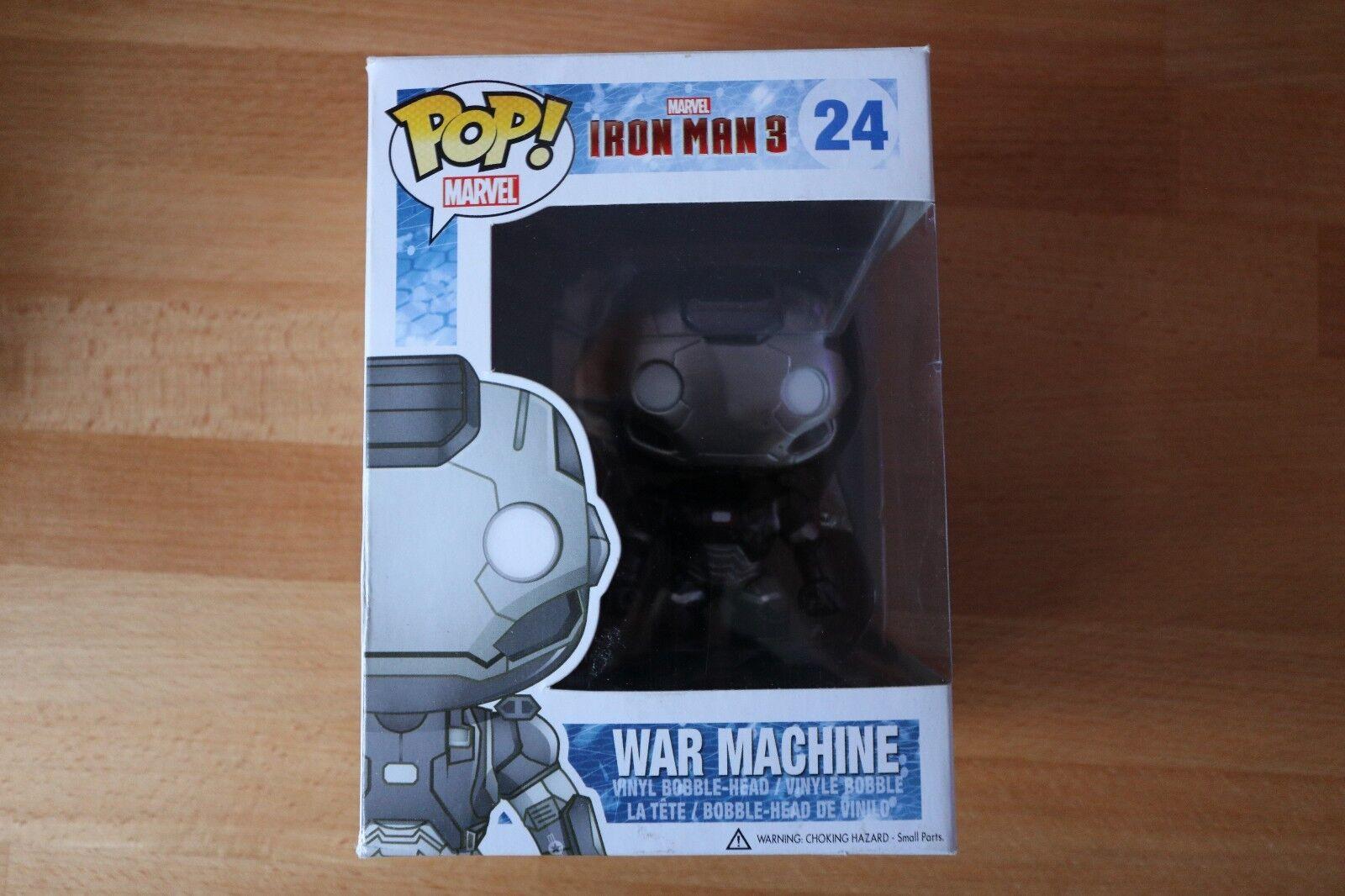 Rareza  Funko Pop Iron Man 3 máquina de guerra  24 (abovedado)