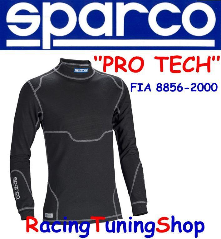 MAGLIA SOTTOTUTA SPARCO OMOLOGATA - FIA 8856-2000 - - neta taglia s-m - 8856-2000 PRO TECH ff3831