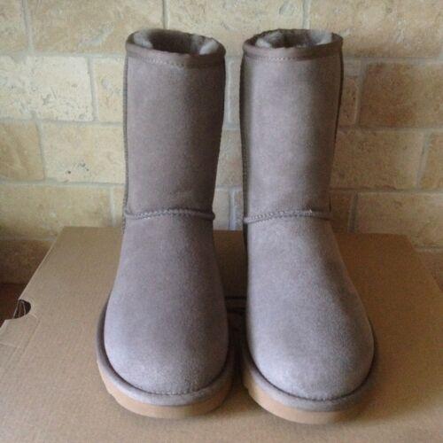 l'eau Womens Classic Short Ugg Size résistant à Bottes 5 daim Us Brindle en A7wFq8