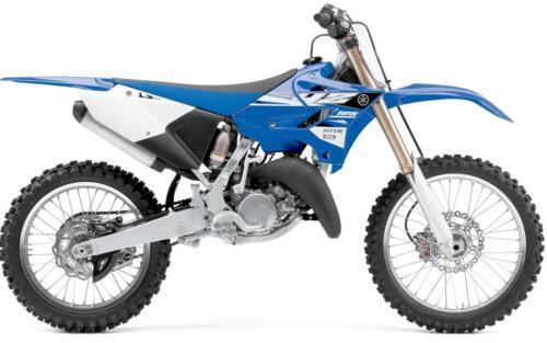 Yamaha YZ125 YZ250 2015 2016 2017 Genuine Plastic Kit Blue