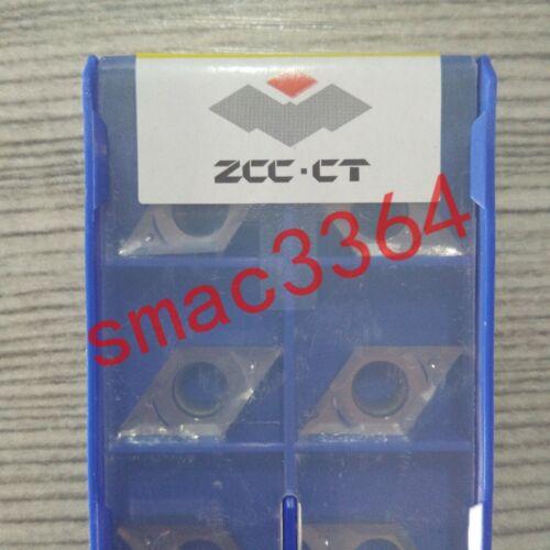 10PCS//box Neu ZCC.CT CNC blade DCGX11T304-LH YD101