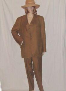Vintage-Botany-500-3pc-Three-Piece-Wool-Suit-1960s-Mod-Stove-Pipe-Pants-Vest