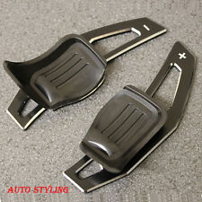 Paleta De Aluminio Metal Negro Extensión de cambio dsg vw golf 5 MK5 6 MK6 GTI R32 P1ab