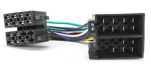 RADIO STEREO HEADUNIT ISO WIRING HARNESS LOOM PC2-36-4 FITS CITROEN AX BERLINGO