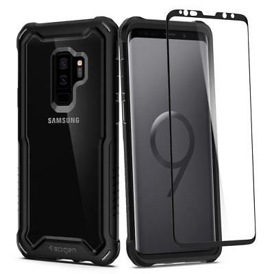 Galaxy S9 Plus Case, Genuine SPIGEN Hybrid 360 Full Body Cover for Samsung
