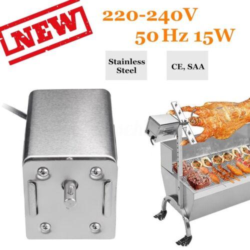 Barbecue Grill Motor Drehspieß BBQ Rotisserie Röster Spieß Lamm