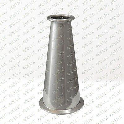 Tri Clover 12 x 2 Tri Clamp Sanitary Concentric Reducer 304 SS
