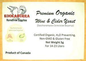 Premium-Organic-Red-White-Wine-amp-Cider-Yeast-H2S-Preventing-amp-Non-GMO