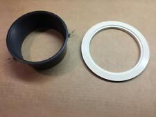 White Trim Ring Black Baffle Tapered Halo Lighting 6 Recessed Light Can Flanged
