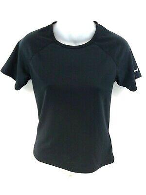 Analytisch Berghaus Womens T Shirt Top 8 Black Polyester GroßE Sorten