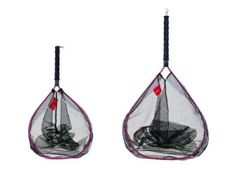 FLADEN Watkescher in Größen M und L schwimmend gummiert Meerforelle Kescher