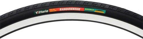 Vittoria 700x32 Randonneur Road Tyre 32-622 30tpi Double Shielding 700C BLACK