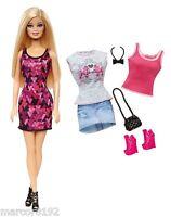Barbie Fashionistas Doll W/ Fashions Outfits Shoes Giftset