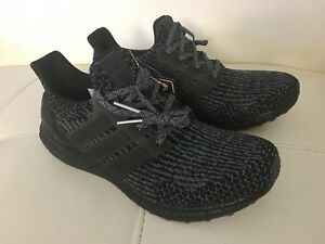 premium selection 99690 23d2c Details about Adidas Ultra Boost 3.0 Triple Black Silver Grey Gray BA8923  Size 8.5