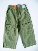 Gymboree Camp Scout Cotton / Nylon Blend Green Pants Boys 2 2t