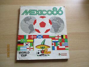 Panini Album WC Mexico 86(1986) - complete Kicker+Maradona