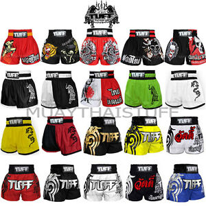 New Tuff Muay Thai Boxing MMA Shorts MS1 MS2 Training : S M L XL XXL