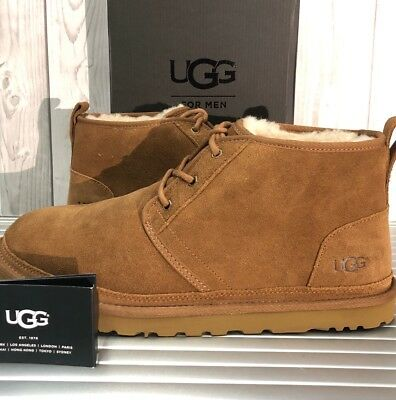 6a7aea4cc01 Brand New UGG AUSTRALIA MEN'S NEUMEL Suede Chukka Boots 3236 Chestnut 11    eBay