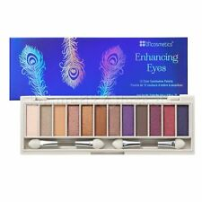 BH COSMETICS ENHANCING EYES 12 COLOR EYESHADOW PALETTE BRIGHT BLUE EYES