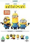 Minions Movie 2015 R2 DVD 3 Mini-movies Sandra Bullock Michael Keaton