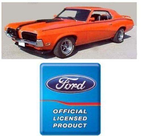 Ford licensed black or white 1970 Cougar Eliminator stripe kit
