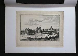 Grabado-de-la-17e-siglo-representando-propiedad-Castillo-Irrois-en-Champan