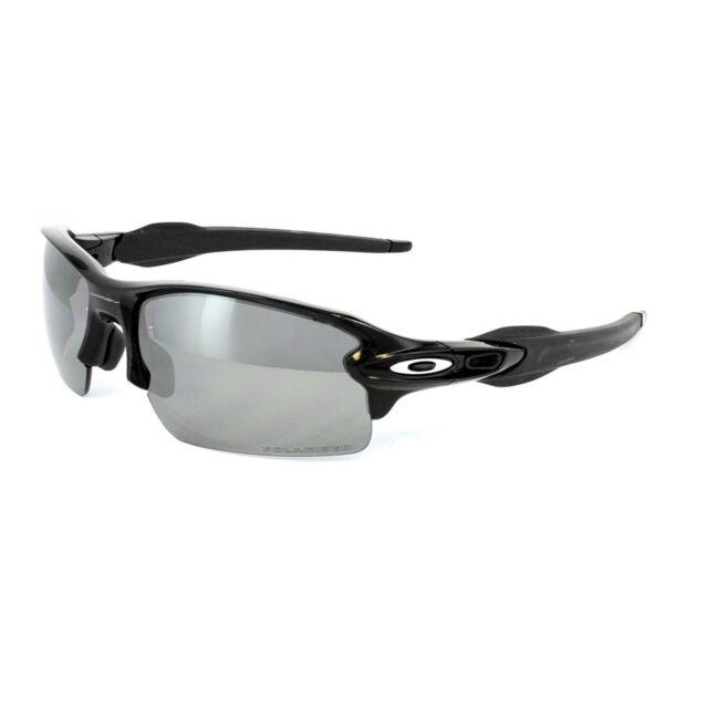 8bffa5da9d Oakley Sunglasses Flak 2.0 OO9295-07 Polished Black Black Iridium Polarized