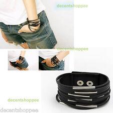 Fashion Leather Girls Multi-layer Bracelet