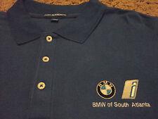New Mens BMW of South Atlanta GA Long Sleeve Polo Shirt NWOT Size 3XL NWOT