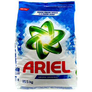 Details about Ariel Original Detergent Powder Washing Laundry MADE IN  MEXICO 11 Lbs / 5 Kg