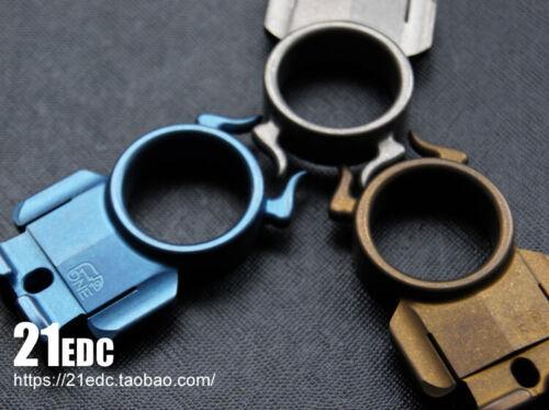 Details about  /TC4 Titanium alloy EDC Finger Tiger Outdoor Survival Tools Key Chain Pendants