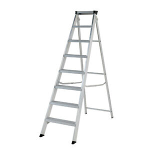Youngman 8tread Swingback Builders Step Ladder For Heavy