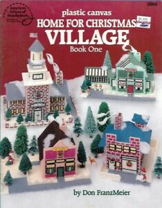 Home-for-Christmas-VILLAGE-Book-One-in-Plastic-Canvas-ASN-3066