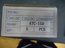 ATC-15D ASTRODYNE ULTRAMINIATURE SWITCHING POWER SUPPLY BRAND NEW!