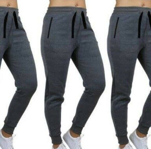 Wicked Stitch Joggers Women's Loose Fit Yoga Pants Charcoal Gray Small 2XL NWT