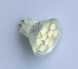 MR11 GU4 G4 9 SMD 5050 LED High Power Energy Saving Light Bulb Lamp 12V DC