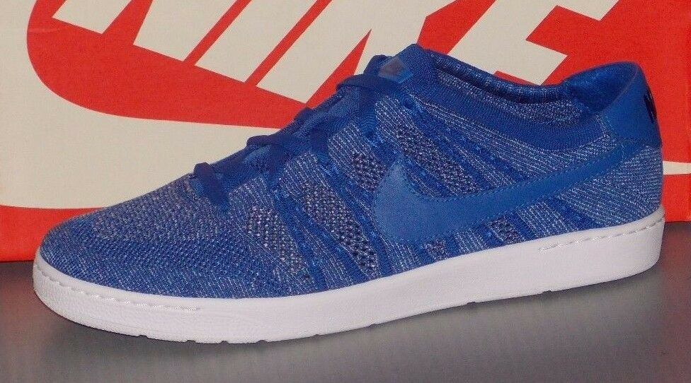 MENS NIKE TENNIS CLASSIC ULTRA FLYKNIT in colors ROYAL   blueE   LT ARM SIZE 13