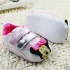 Adorable Baby Girls Minnie Mouse Pink Disney Pre Walkers Sneakers