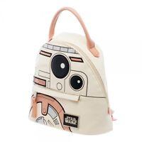 Official Star Wars Pastel Bb8 Mini Backpack Dome Handbag Satchel Purse