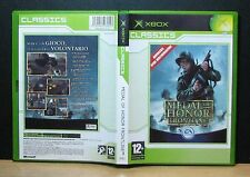 MEDAL OF HONOR FRONTLINE - XBOX - PAL - Italiano - Usato