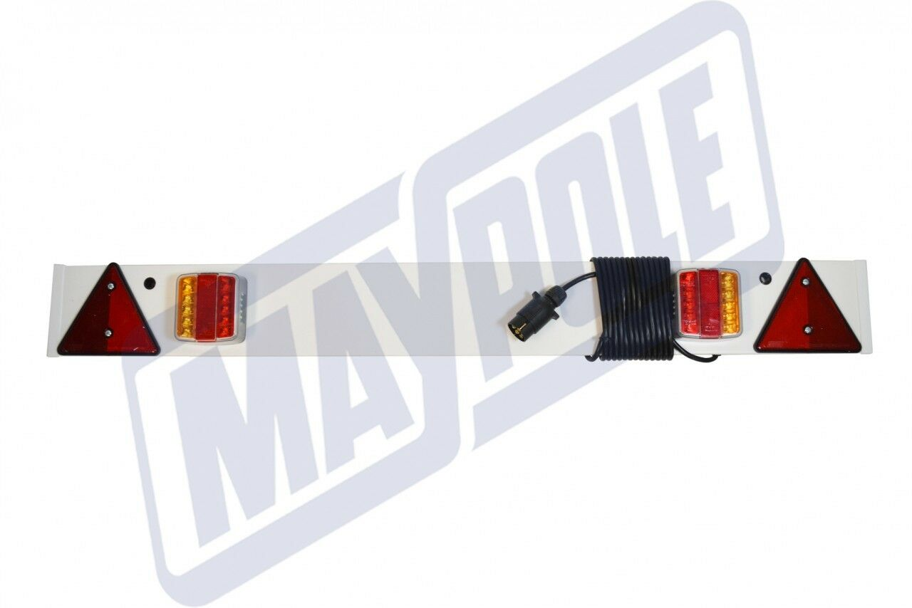 12 & 24v 4` LED Trailer Lighting Board 6 Meter Cable 7 Pin 274PLED