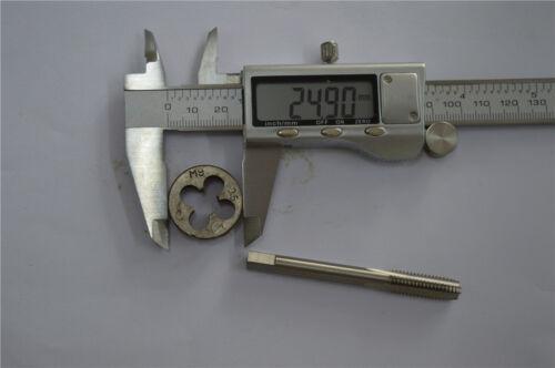 1pcs tap M9 × 0.5 1pcs die M9 × 0.5   brand(S)high quality  M9  right hand