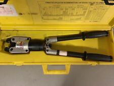 Square D Versalite Hydraulic Aluminum Wire Crimper Vc6 L Sn Anderson Greenlee