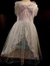 PUR VINTAGE  ROBE DE FETE /  / BAL / PLUMETIS /BUSTIER / 40/42  COCKTAIL DRESS