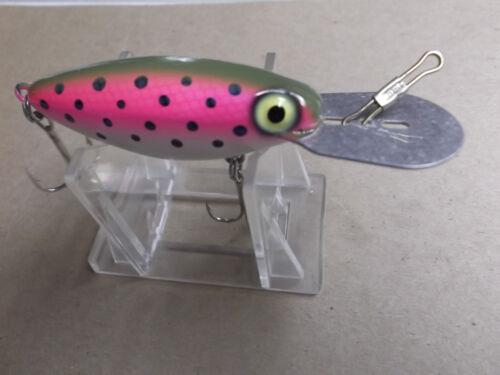 Custom Painted Pre Rapala Storm Hot N Tot,AH Model,Bagley/'s Trout